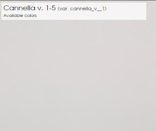 Cannella v. 1-5