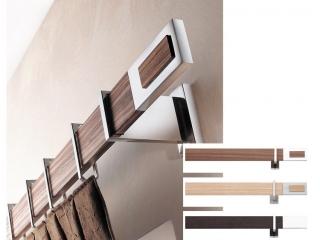 Curtain Poles Priscilla   Wood - Classic